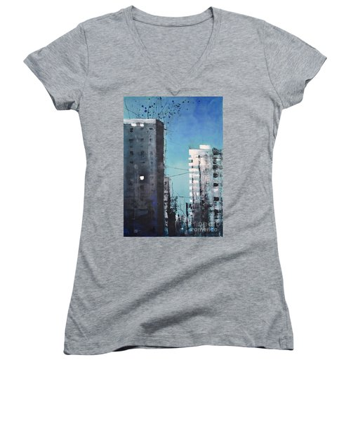 Rotterdam Women's V-Neck T-Shirt