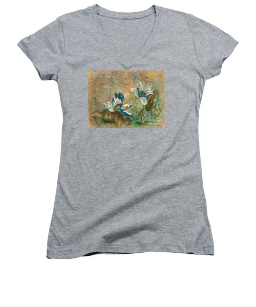 The Turquoise Incarnation Women's V-Neck