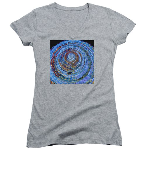 Blue World Women's V-Neck