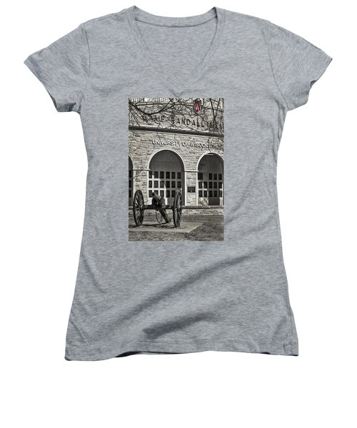 Camp Randall - Madison Women's V-Neck (Athletic Fit)