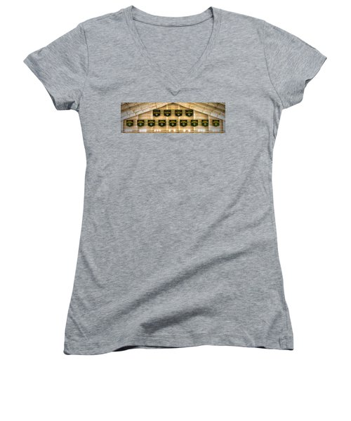 Championship Banners Women's V-Neck (Athletic Fit)