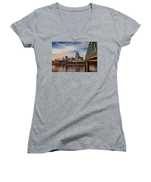 Cincinnati Women's V-Neck