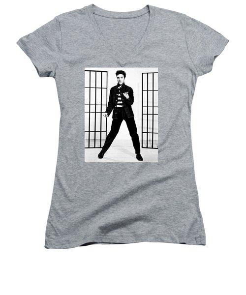 Elvis Presley Women's V-Neck