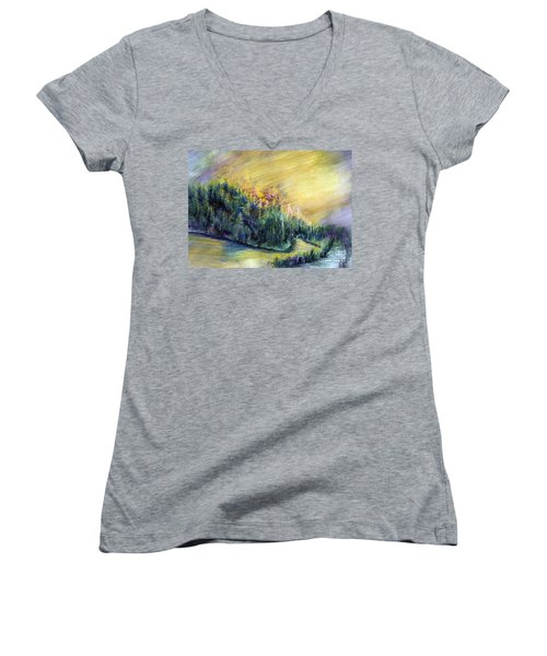 Enchanted Island Women's V-Neck