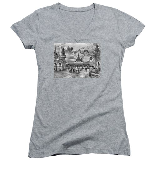 Fantasyland Women's V-Neck T-Shirt