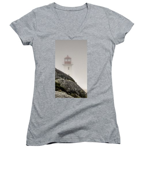 Halifax Fog Women's V-Neck T-Shirt