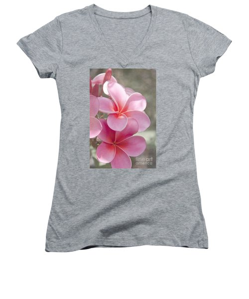 In The Path Of A Dream Women's V-Neck