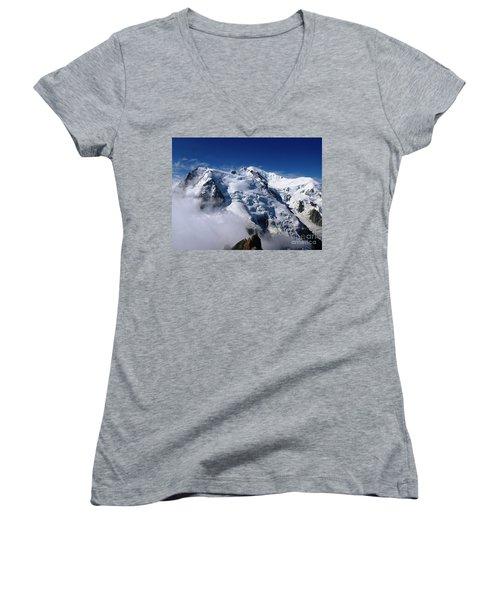 Mont Blanc - France Women's V-Neck