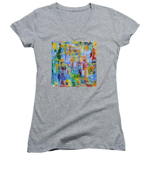 Nonlinear Women's V-Neck T-Shirt