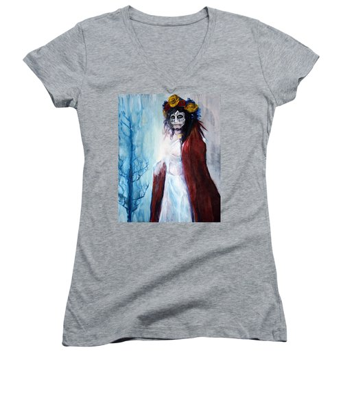 November Women's V-Neck T-Shirt