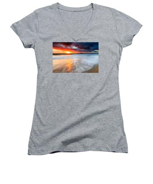 Old Lighthouse Women's V-Neck