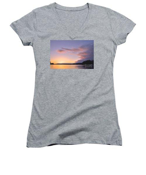 On Puget Sound - 2 Women's V-Neck T-Shirt