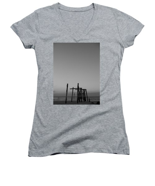 Pier Portrait Women's V-Neck (Athletic Fit)