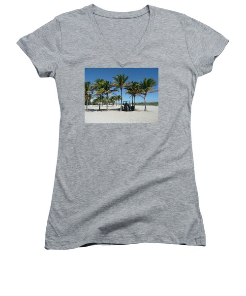 Sand Farm Women's V-Neck (Athletic Fit)