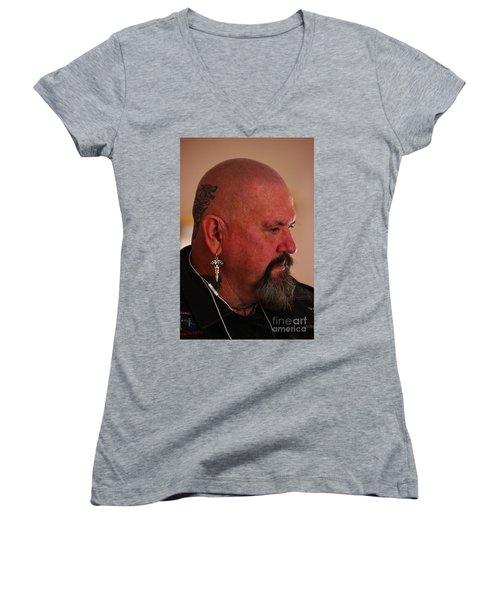 Self Portrait Women's V-Neck T-Shirt (Junior Cut) by Blair Stuart