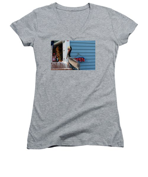 Snack Time  Women's V-Neck