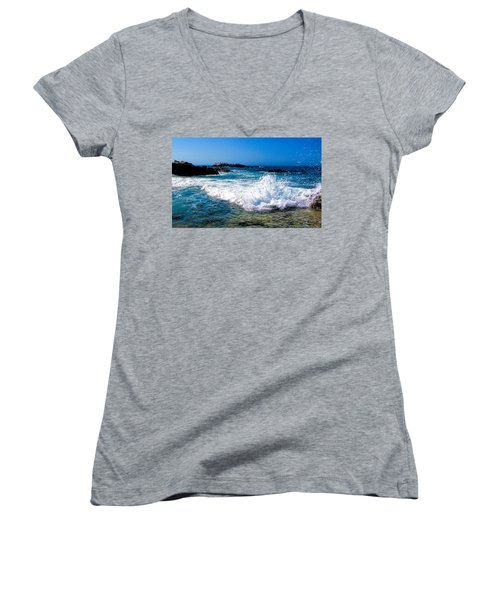 Surf's Up Women's V-Neck T-Shirt