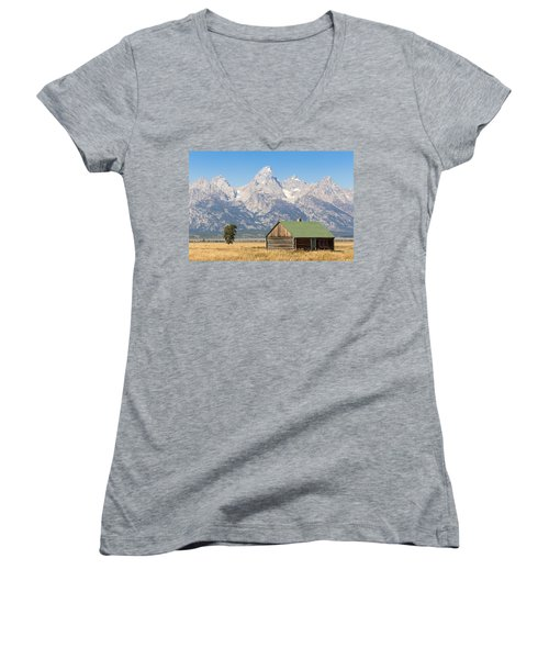 The Grand Teton Women's V-Neck