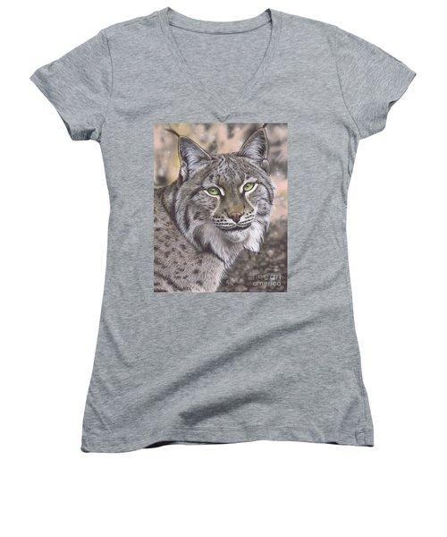 The Lynx Effect Women's V-Neck