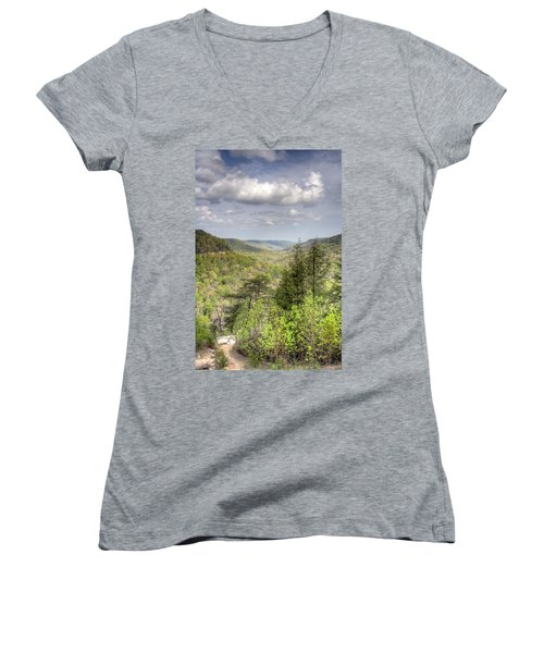 The Valley II Women's V-Neck (Athletic Fit)