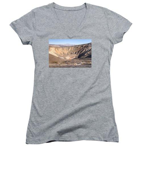Ubehebe Crater Women's V-Neck T-Shirt