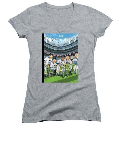 New Yorker April 8th, 2013 Women's V-Neck