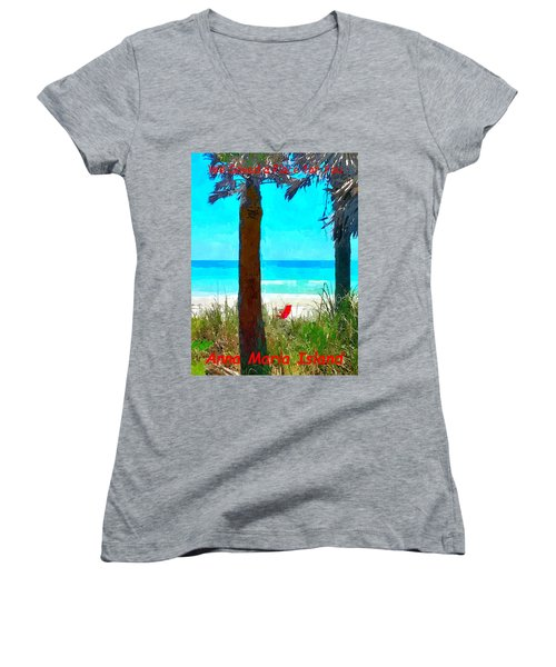 We Saved A Place For You Women's V-Neck
