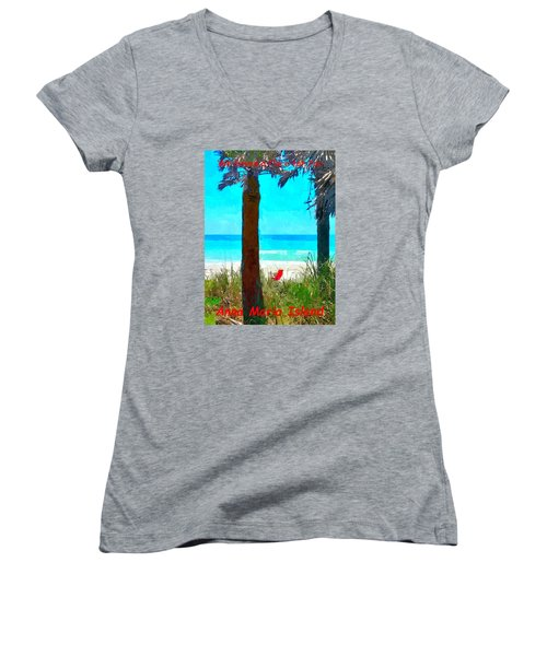 We Saved A Place For You Women's V-Neck (Athletic Fit)