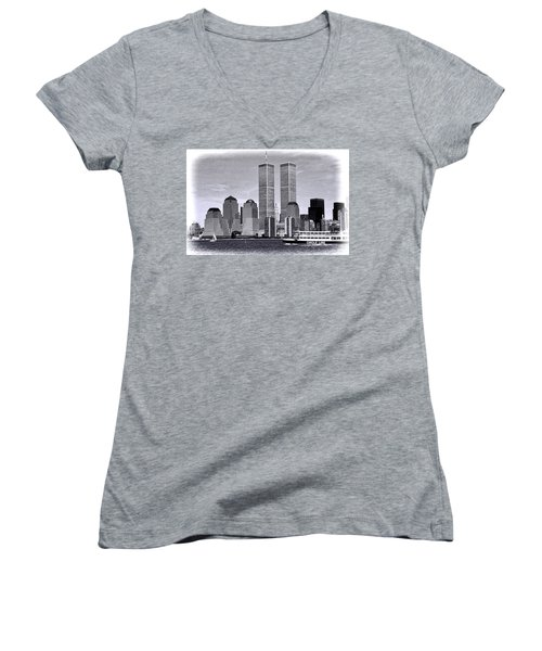 World Trade Center 3 Women's V-Neck
