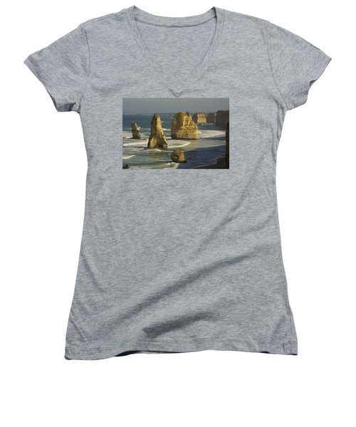 12 Apostles #4 Women's V-Neck (Athletic Fit)