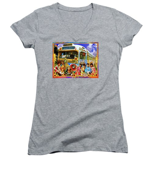 19 Sixty 7 Women's V-Neck T-Shirt