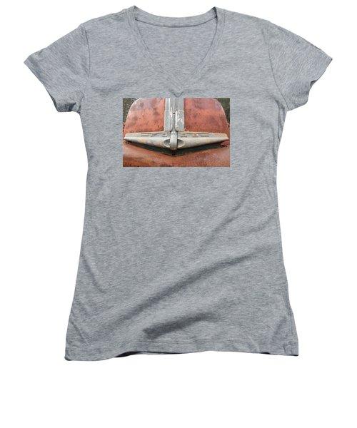 1945 Ford Pick Up Women's V-Neck T-Shirt