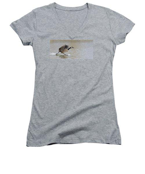 Canada Goose Women's V-Neck T-Shirt