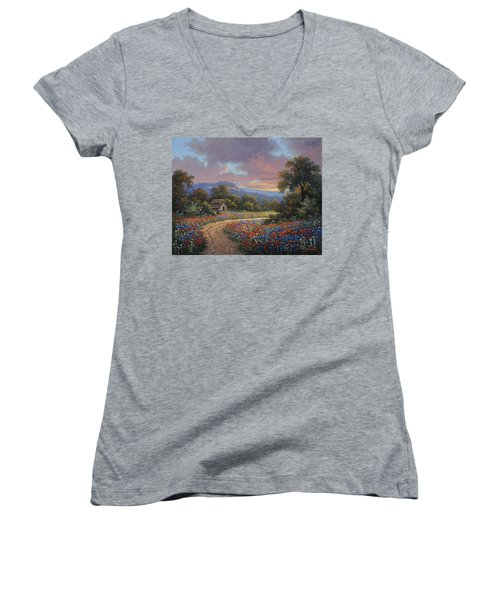 Evening Medley Women's V-Neck T-Shirt