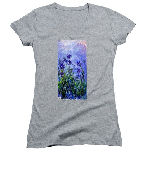 Irises Women's V-Neck