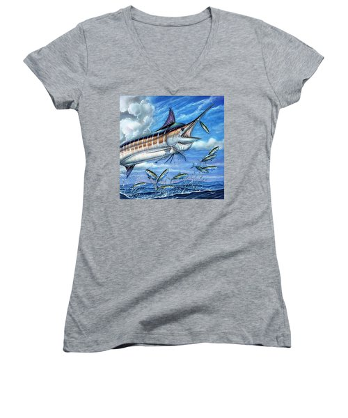 Marlin Queen Women's V-Neck