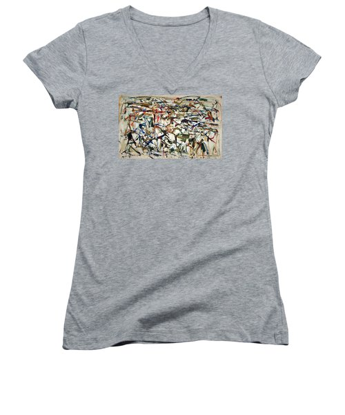Mitchell's Piano Mecanique Women's V-Neck (Athletic Fit)