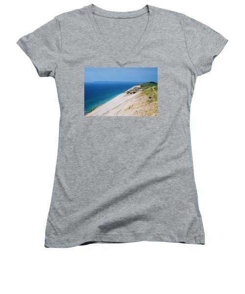Sleeping Bear Dunes Women's V-Neck T-Shirt