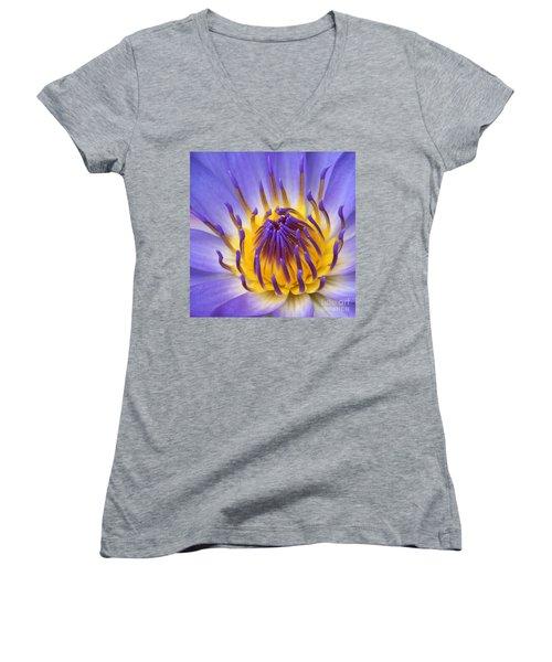 The Lotus Flower Women's V-Neck