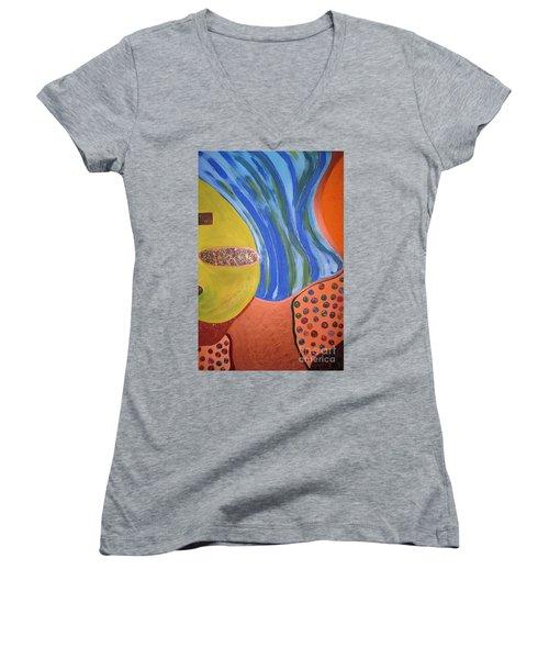 Underground Women's V-Neck T-Shirt