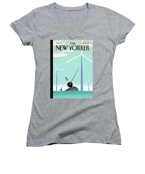 New Yorker May 10th, 2010 Women's V-Neck