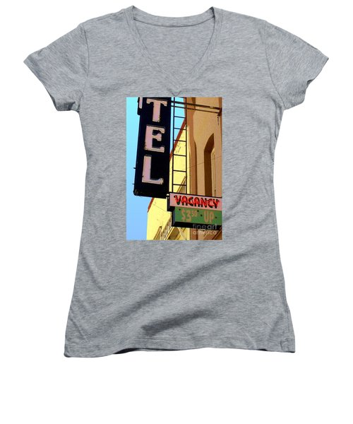 Vacancy Women's V-Neck T-Shirt