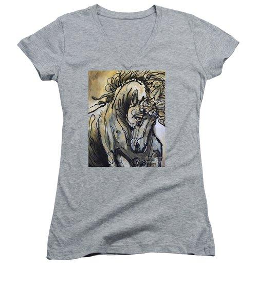 24 Carrot Women's V-Neck T-Shirt