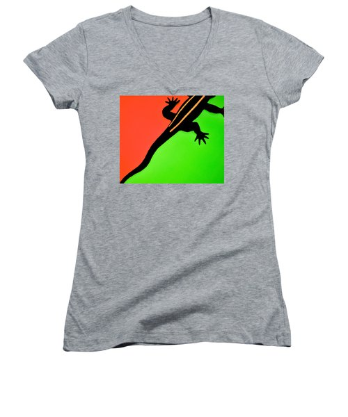 I'm Outta Here Women's V-Neck (Athletic Fit)