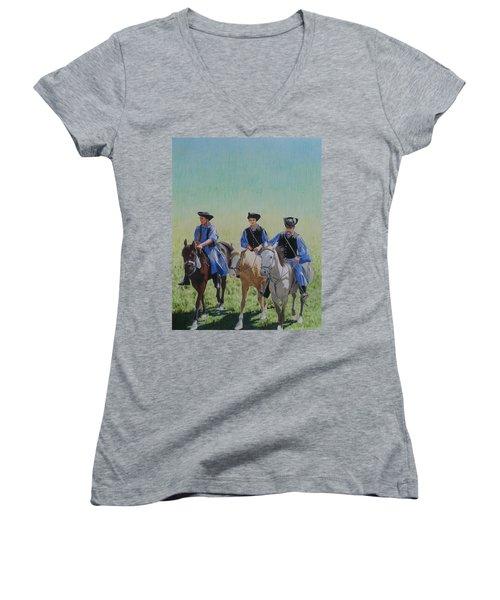 Puszta Cowboys Women's V-Neck T-Shirt