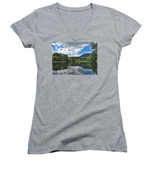 South Fork Shenandoah River Women's V-Neck T-Shirt