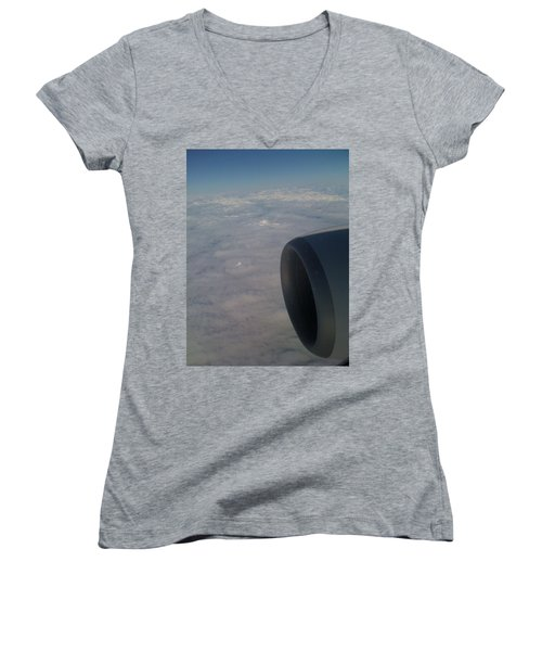 33000 Feet Women's V-Neck T-Shirt