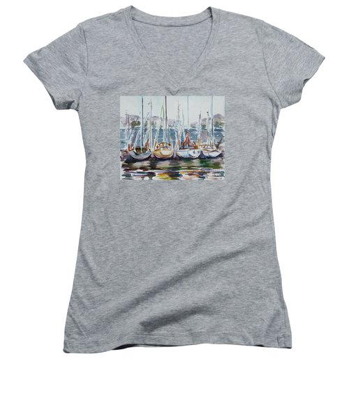 4 Boats Women's V-Neck