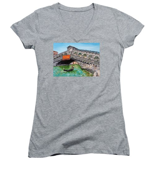 Ponte Di Rialto Women's V-Neck T-Shirt