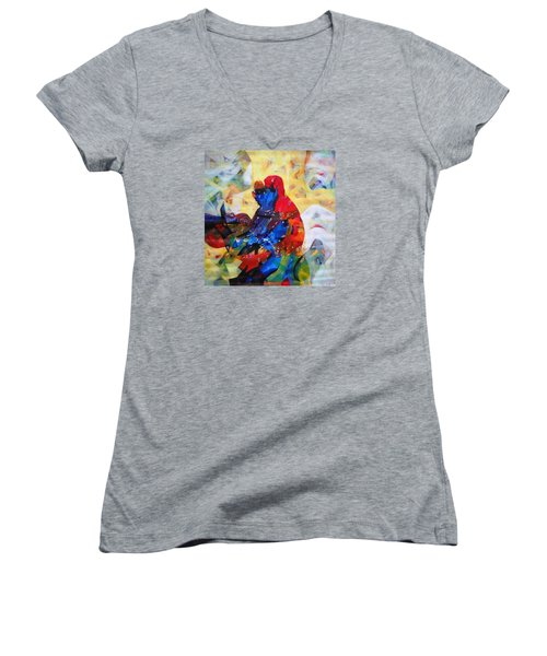 Sold Women's V-Neck T-Shirt (Junior Cut) by Sanjay Punekar